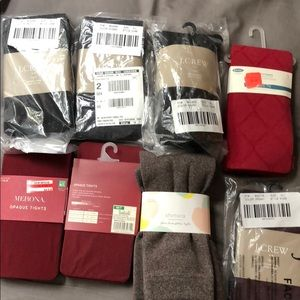 Lot of NWT tights Medium Large New
